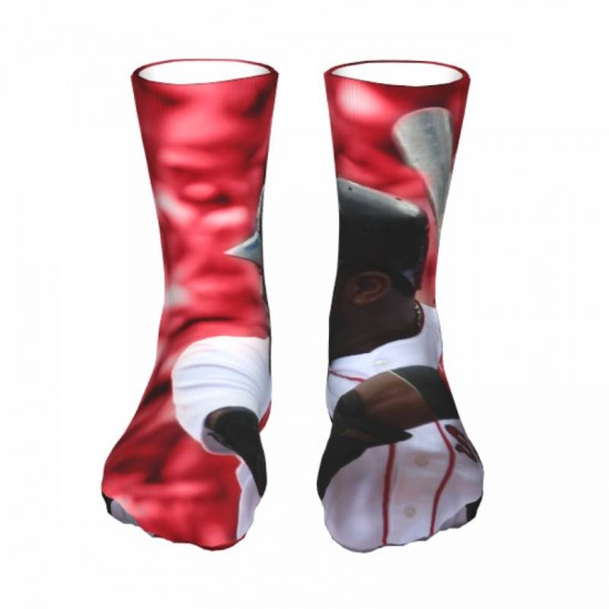 1 Pairs of Mens and Women Boston Red Sox sockings #284226 Pack Warm Winter